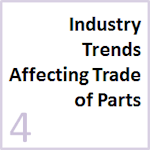 Key trends affecting how aircraft parts are managed, traded and tracked