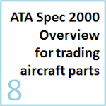 Overview of key ATA Spec 2000 chapters used for aircraft parts trading and repair
